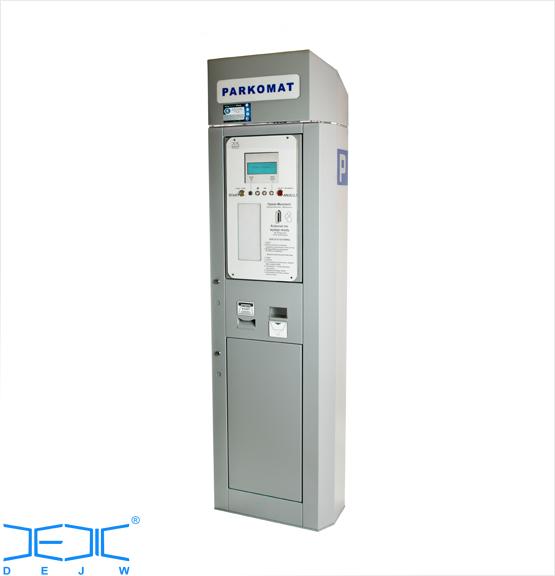 Parkomat DEJW - zastosowanie jako biletomat