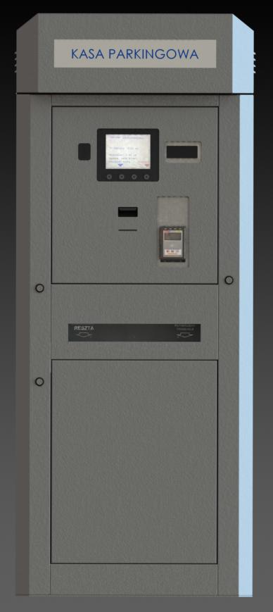 Kasa automatyczna Parkingowa ML3 serwer