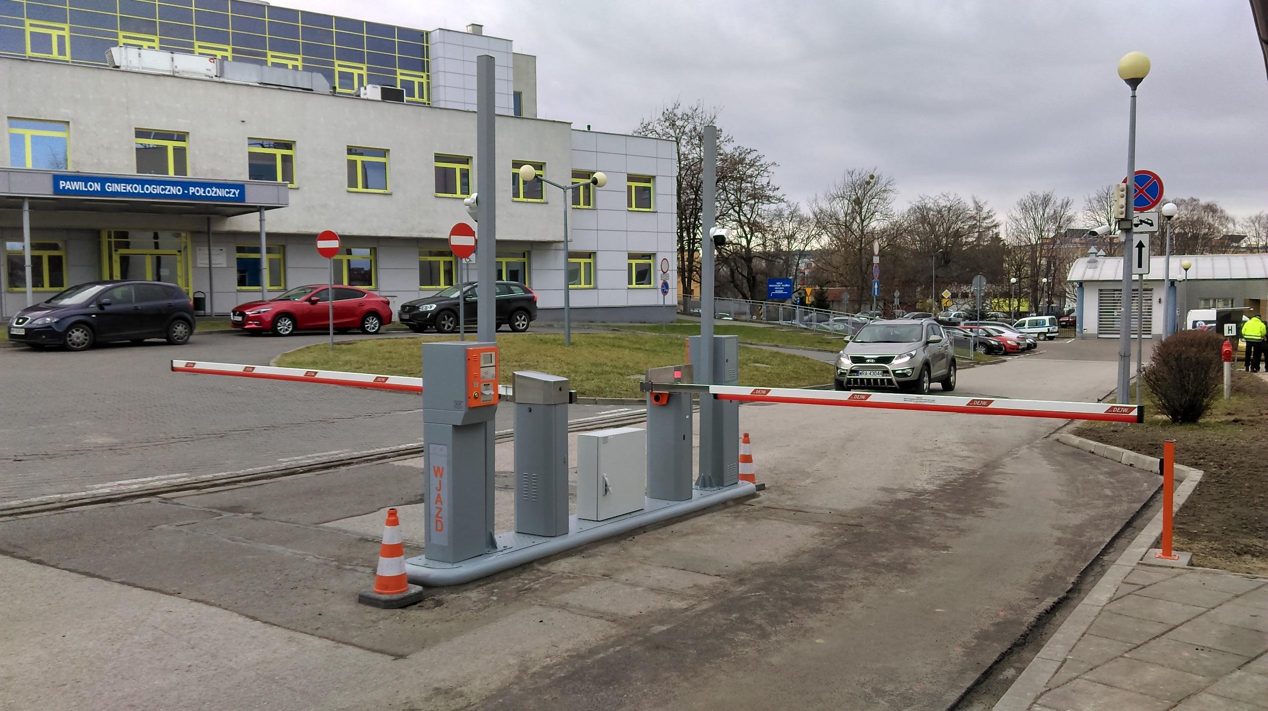 Systemy Parkingowe DEJW